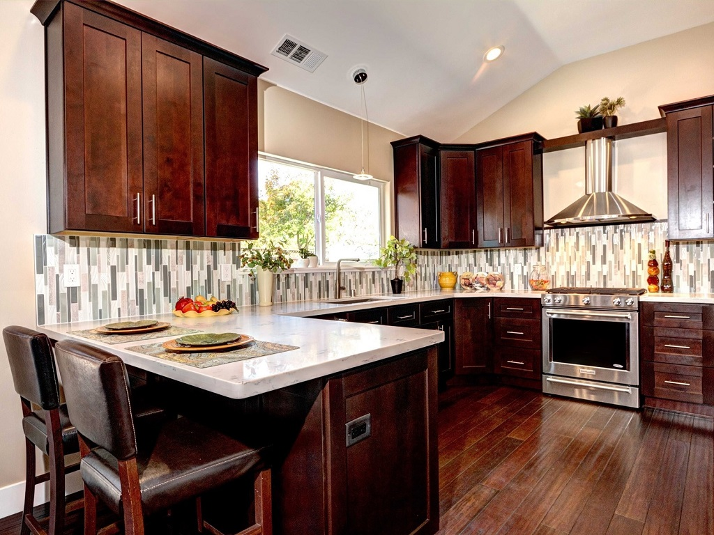 From The New Home Architectural Project, Royer Designs Selected The Tile,  Cabinetry, Flooring And Fixtures For This New Build Kitchen In A Home  Priced At ...